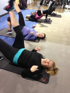 Gina & Vanessa-Team Training
