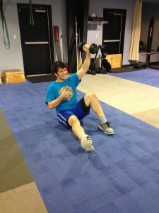 Semi Private(Exercise-turrkish sit ups)